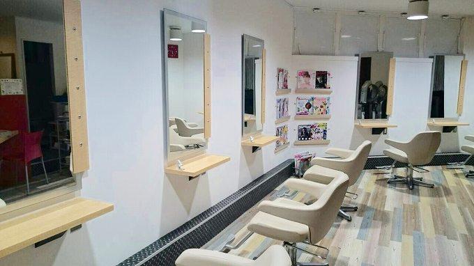 美容室ループのリニューアルオープン